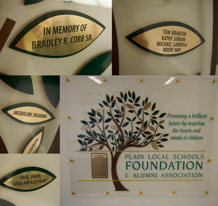 Donor Wall Collage